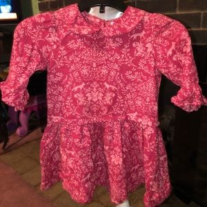 Baby Gap Floral and Fox Print Dress 3T